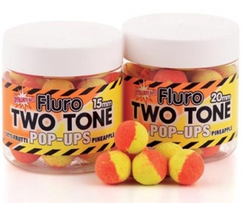 Boilie Dynamite Baits Pop Up Fluro Two Tone Tutti-Frutti & Pineapple
