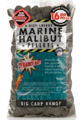 Pelety Dynamite Baits Pre-Drilled Marine Halibut