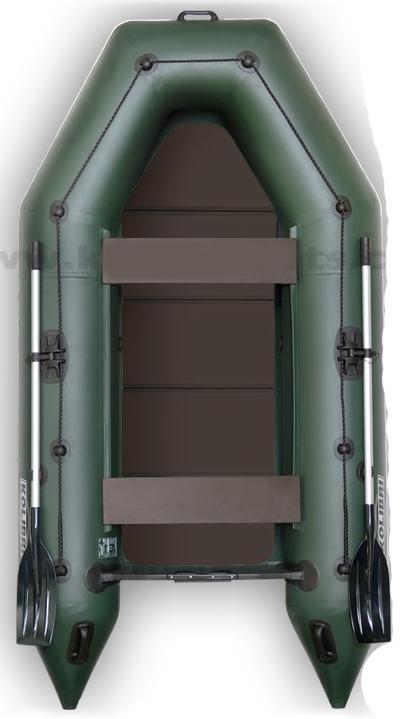 Rybársky čln KOLIBRI KM s pevnou skladacou podlahou bez kýlu