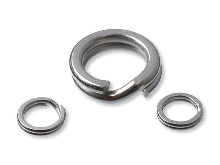 Kariky na háčiky CORMORAN Stainless Steel Split Rings