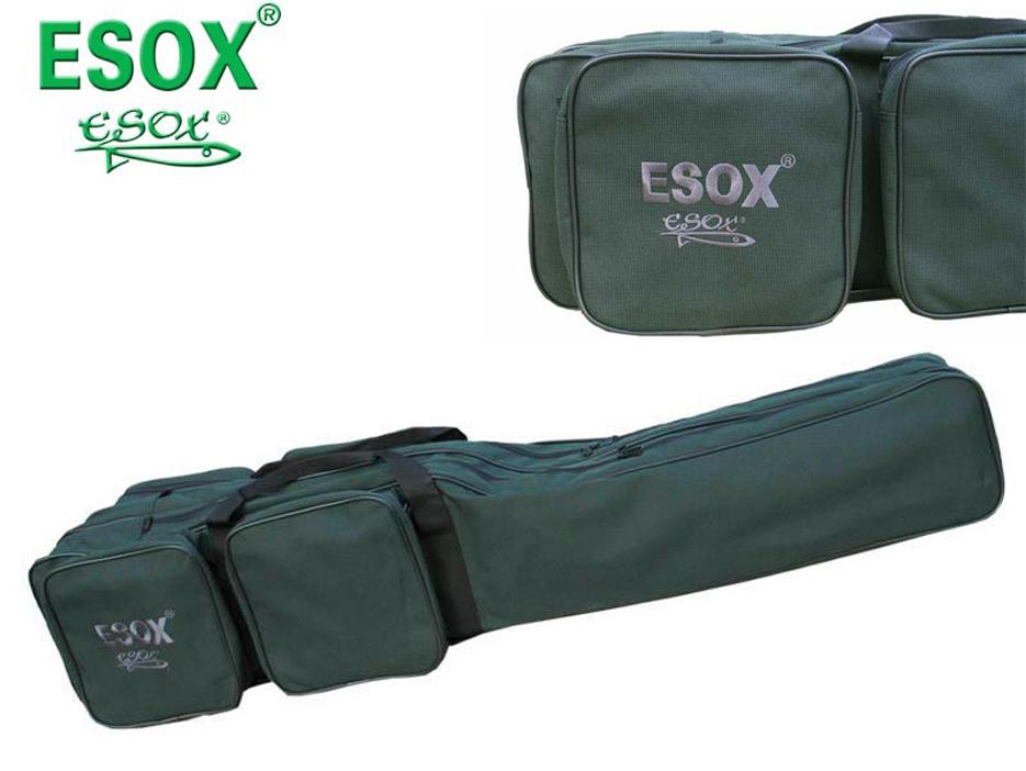SET = Puzdro ESOX  Rod Bag New + tigrí orech Mix