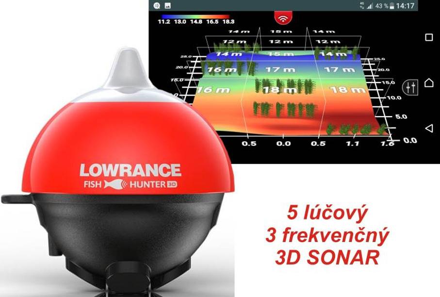 8c1789375 Nahadzovací sonar LOWRANCE FishHunter 3D | OKfish.sk, rybárske potreby