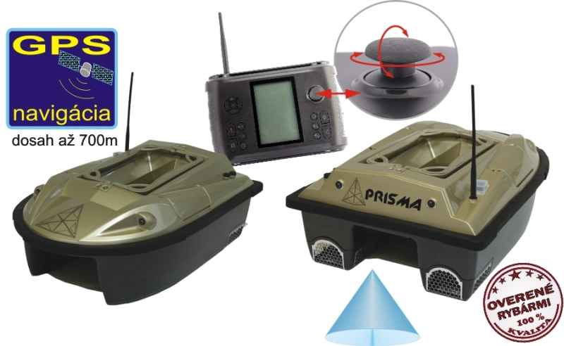 aab2711fa Zavážacia loďka PRISMA 5 + sonar + GPS   OKfish.sk, rybárske potreby