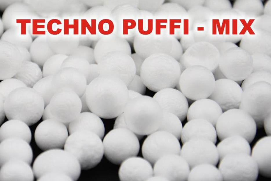 Techno puffi SPORTS MIX polystyrénové guličky
