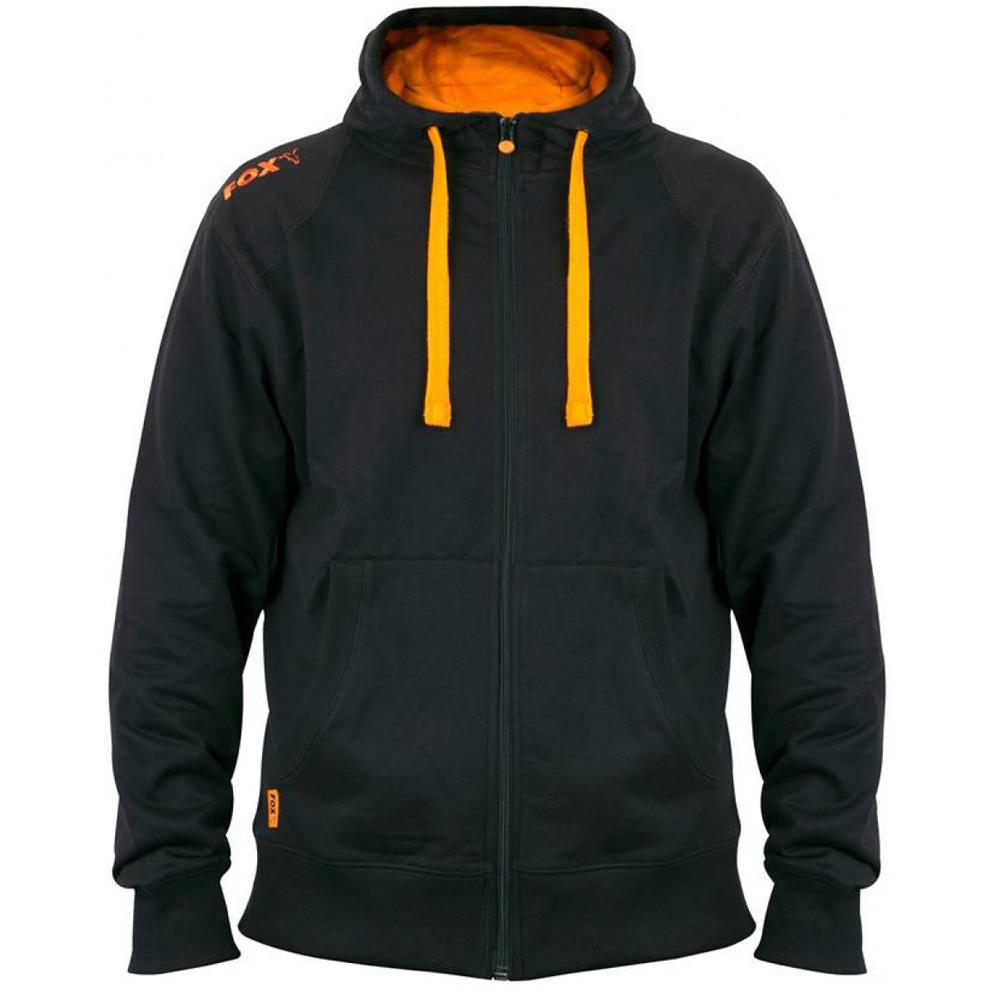 0fdffc5eac Mikina FOX Black  Orange Lightweight Zipped Hoody