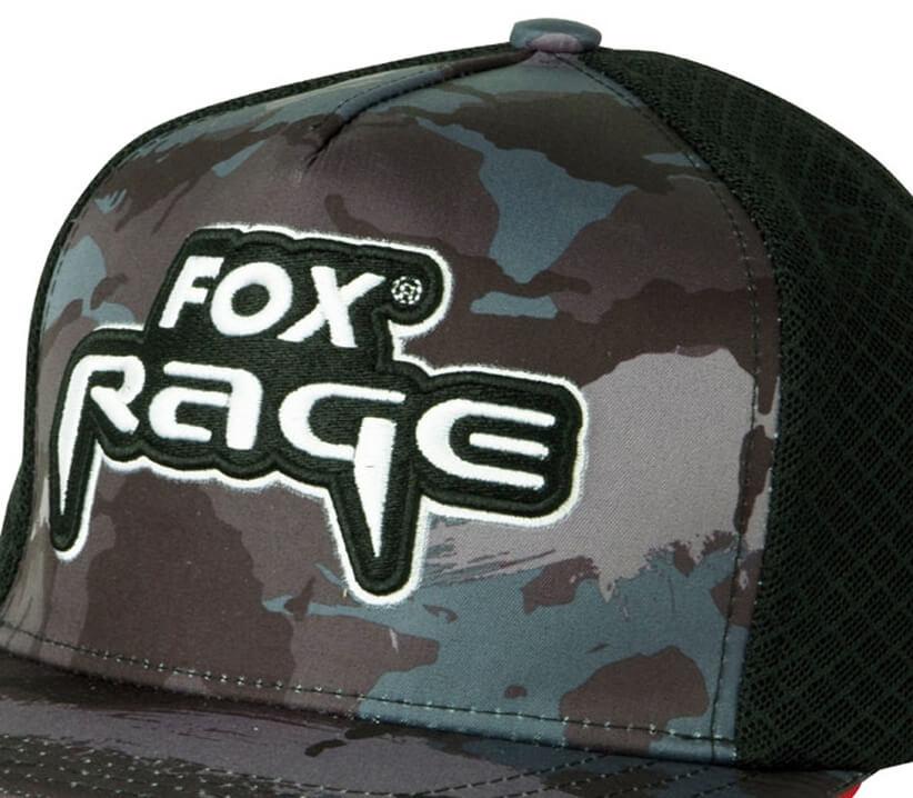 d33dfea0a Šiltovka FOX Rage Camo Flat Peak Trucker Cap   OKfish.sk, rybárske ...