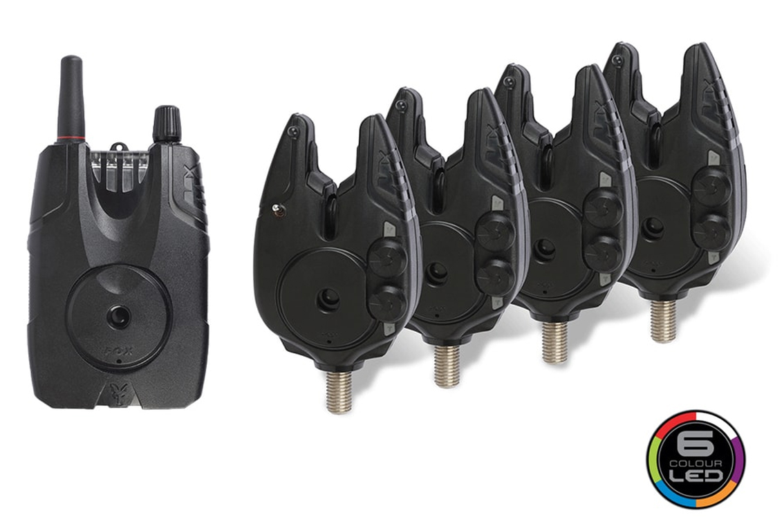 Set 4 signalizátorov FOX Micron MX 2 Rod Set s príposluchom