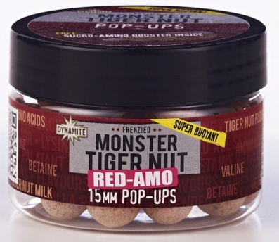 Boilie Dynamite BAITS Pop-up Monstre Tiger Nut Red-Amo