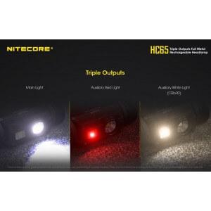 Obrázok 4 k Nabíjateľná čelovka Nitecore HC65