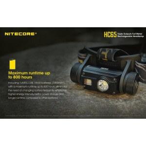 Obrázok 7 k Nabíjateľná čelovka Nitecore HC65