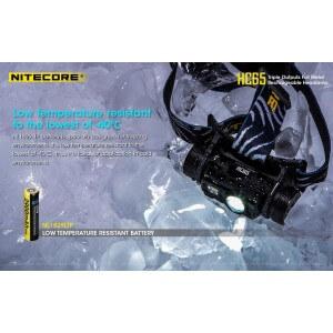 Obrázok 10 k Nabíjateľná čelovka Nitecore HC65