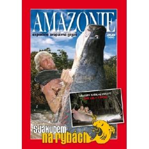 DVD - S JAKUBOM NA RYBÁCH, Amazonie