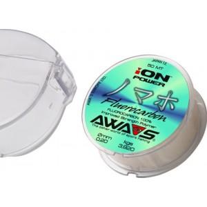 Nadväzcový vlasec AWA-SHIMA Ion Power Fluorocarbon