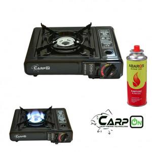 SET = Plynový varič CARPON + plynová kartuša TIROSS