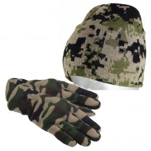 SET = rukavice ROBINSON  + čiapka Robinson