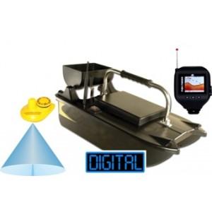 Zavážacia loďka a sonar v hodinkách