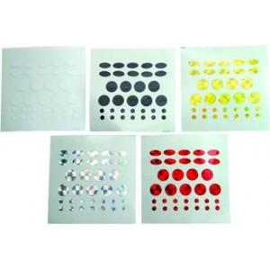 Nálepky ZEBCO na nástrahy Tuning dots