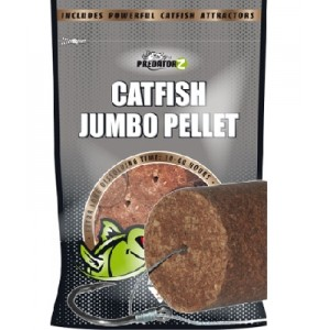 Mega pelety CarpZoom Catfish Jumbo Pellets Bloody & Halibut