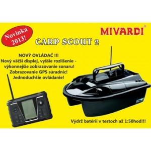 Zavážacia loďka MIVARDI Carp Scout s GPS 2