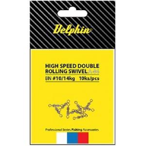 Dvojobratlík DELPHIN High Speed Double Rolling Swivel