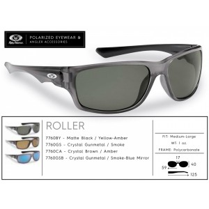 Polarizačné okuliare Flying Fisherman Roller Crystal