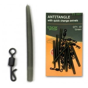 Montáž ESOX Antitangle with Quick Change Swivels