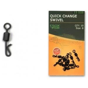 Obratlík ESOX Quick Change Swivel