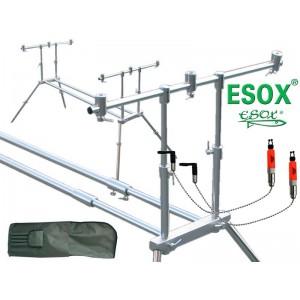 SET = Stojan ESOX Rod Pod ER + 2x swinger Quest hanger