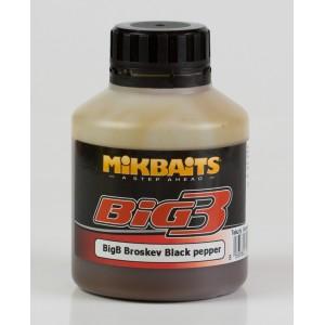 Booster MIKBAITS Legends BigB Broskyňa Black Pepper