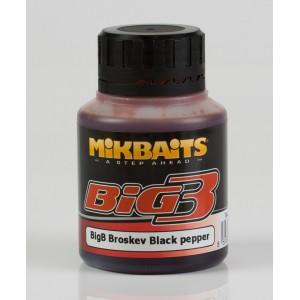 Dip MIKBAITS Legends BigB Broskyňa Black Pepper