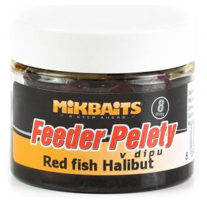 Feeder pelety MIKBAITS Halibut v dipe