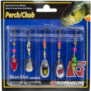 Sada rotačiek ROBINSON Perch / Chub 1