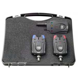 Sada 2 signalizátorov CARPEX Super Vibe s príposluchom