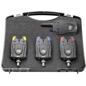 Sada 3 signalizátorov CARPEX Super Vibe s príposluchom