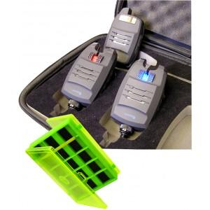 SET = sada signalizátorov CARPERIA DV s príposluchom + magnetická krabička