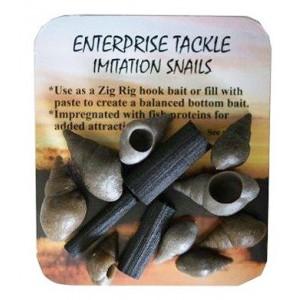 Umelé vodné slimáky Enterprise Tackle Imitation Snails
