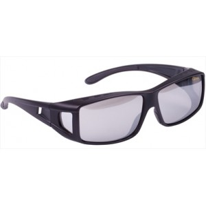 Okuliare SPRO Over-G Light Gray White Mirror