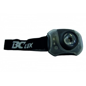 Čelovka BC Lux 3W+4LED