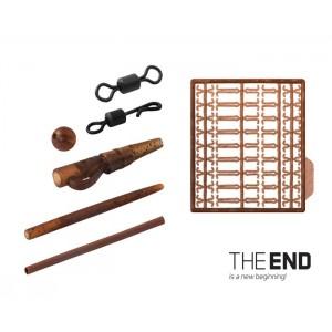 Set kaprárskych montáží DELPHIN The End Carp Rig Basic Set