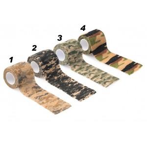 Elastická lepiaca páska DELPHIN Military Camo