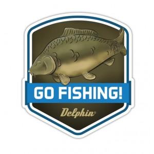 Nálepka DELPHIN GO Fishing