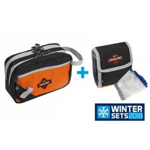 SET = taška DELPHIN Dravec Semi + taška Dravec Mini + vrecká