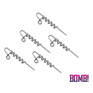 Skrutkovací systém DELPHIN BOMB! Twisto D-Lock, 5ks