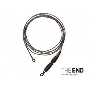 Nadväzec DELPHIN The End Leadcore + Pin clip