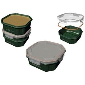Krabička GREYS Klip-Lok Box Flip Lid