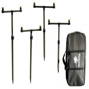 SET = Sada hrázd s tyčami Giants Fishing Buzzer Bar Set + kniha Sonda do rybárovej duše