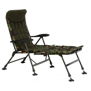 Kreslo GIANTS FISHING Komfy 2v1 Camo Chair