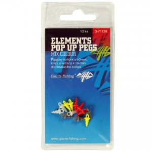 Skrutka GIANTS FISHING Elements Pop Up Pegs Mix