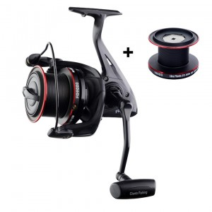 SET - navijak GIANTS FISHNG Gaube Reel FD 9000 + cievka 10000