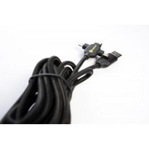 Obrázok 3 k Napájací kábel RidgeMonkey USB A to Multi out 2m